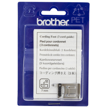 Brother SA148 - Cording Foot - 3 Groove