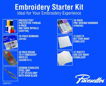 Brother Embroidery Starter Kit