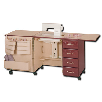 Horn of America Model 2156 Sewing Cabinet with Drawers