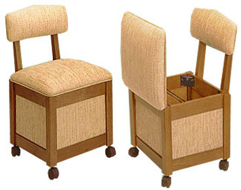 Comfee II 9200 Hassock / Sewing Chair by Stump Home Specialties