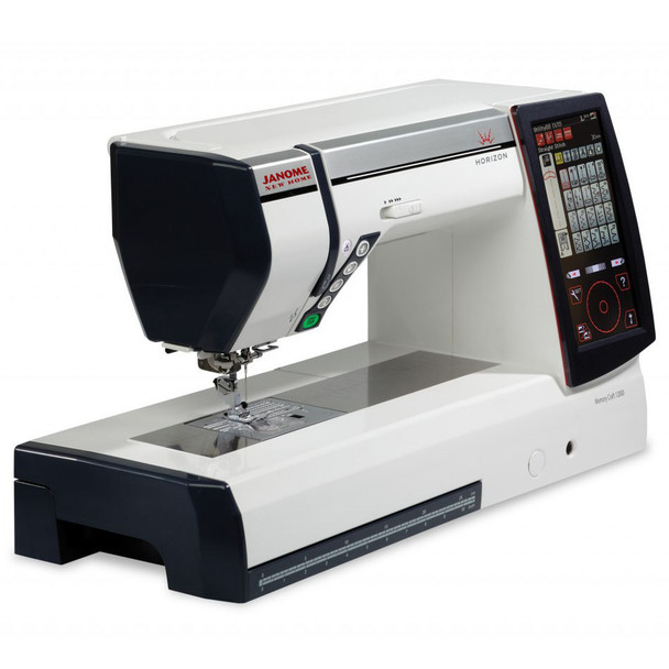 Janome Horizon Memory Craft 12000 Embroidery and Sewing Machine Foot and Plate