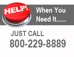We Are Here To Help 800-229-8889