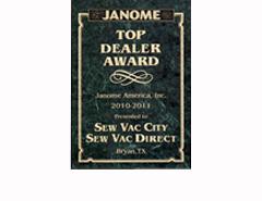 America's #1 Janome Dealer