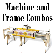 grace frame qulting machine frame combos