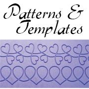 grace frame patterns templates