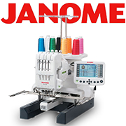 janome brand embroidery machines