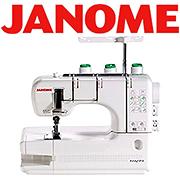 janome brand serger accessories