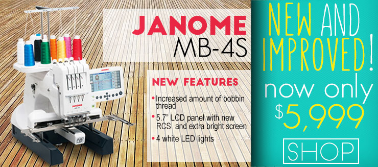 Janome MB-4s