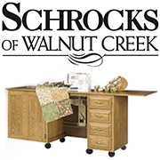 schrocks brand sewing cabinets