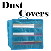 totes cases trolleys dust covers