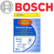 vacuum bags belts accessories bosch brand