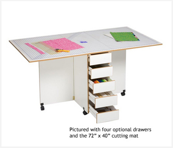 Sylvia Design Sewing Furniture Model 3000 Craft Table
