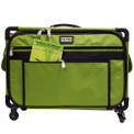 """Tutto 22"""" Large Sewing Machine Bag on Wheels (Lime)"""