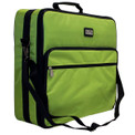 """Tutto 19"""" Lime Embroidery Project Bag"""