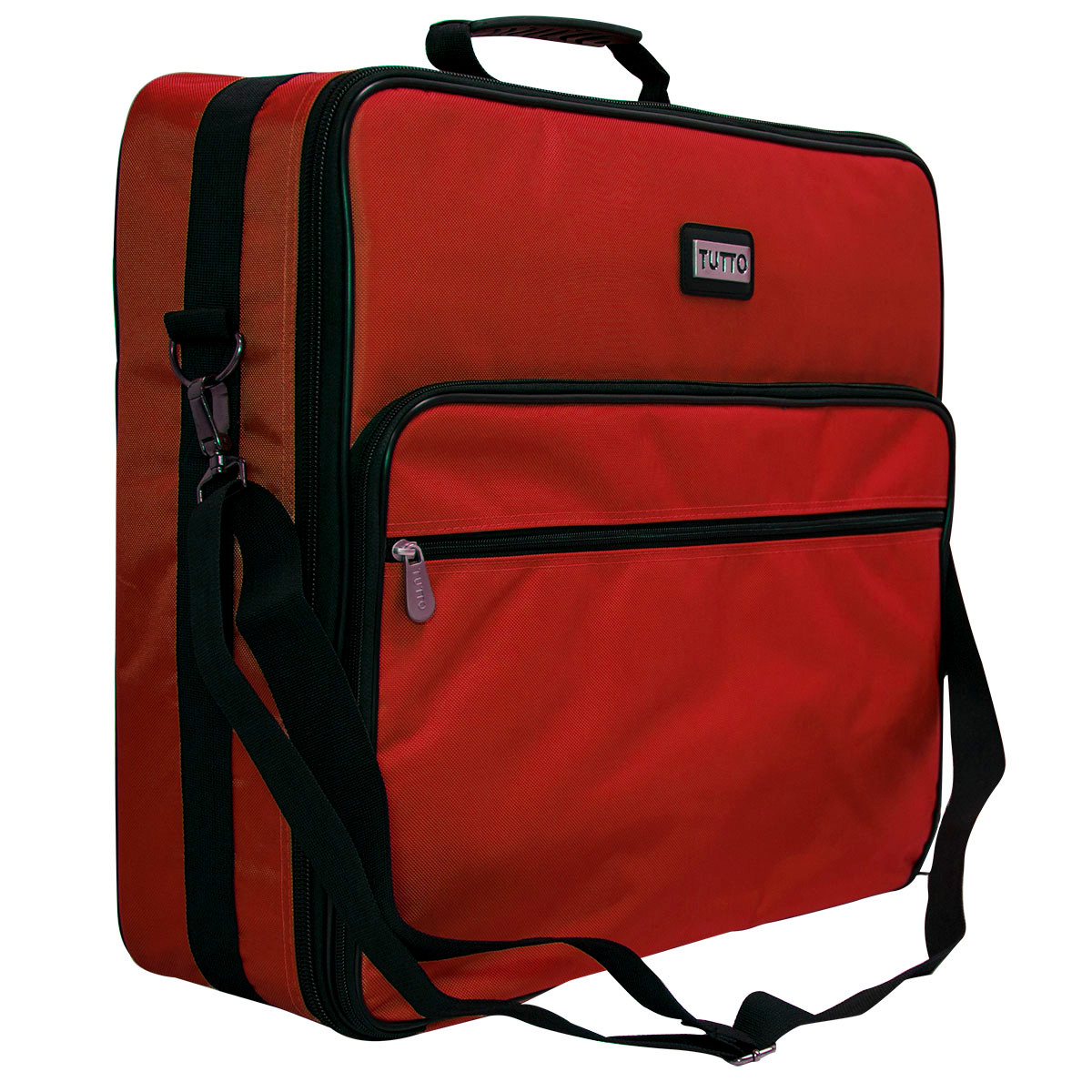 Tutto quot red embroidery project bag sew vac direct