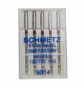 Schmetz Embroidery Needles - Size 90/14