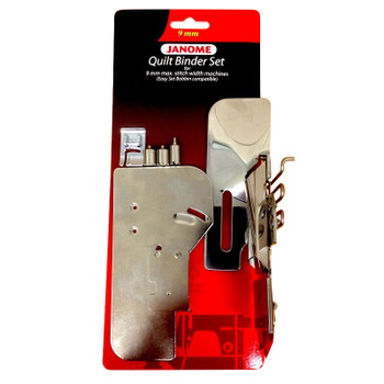 Janome Quilt Binder Set With Easy Set Bobbin Cover For 9mm