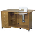 Horn Elite 5680AL Airlift Sewing Cabinet & Cutting Table