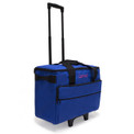 "Luova 19"" Rolling Sewing Machine Trolley in Cobalt Blue"