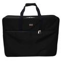 "Tutto 28"" Embroidery Project Bag In Black"