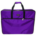 "Tutto 28"" Embroidery Project Bag In Purple"