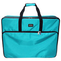 "Tutto 26"" Turquoise Embroidery Project Bag"