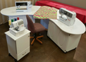 Fashion Sewing Cabinets Stardust III Model 6300 with Optional Caddy