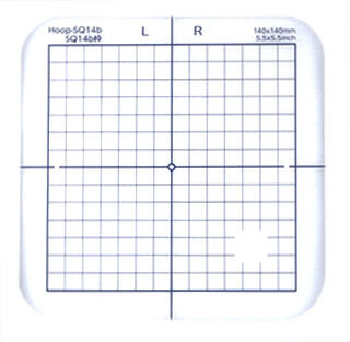Janome Template For Sq14b Hoop Sew Vac Direct