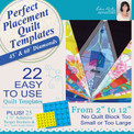 Perfect Placement Quilt Templates – Diamonds