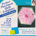 Perfect Placement Quilt Templates – Circles and Hexagons