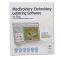 Brother MacBroidery Embroidery Lettering Software for Mac
