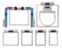 Durkee EZ Frames 7 PC Combo Brother Persona, Baby Lock Alliance