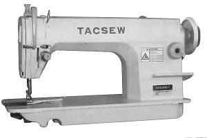 Tacsew Ddl8500 T Industrial Sewing Machine With Stand