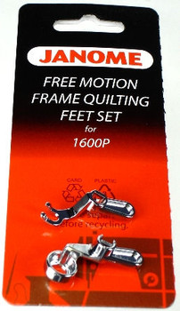 Janome Convertible Free Motion Frame Quilting And Ruler