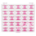 Janome Style J Cherry Blossom Bobbins (25 Pack)