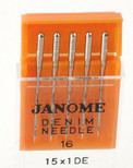 Janome Denim Needles (Size 16)