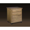 Schrocks of Walnut Creek 3-Drawer Caddy in Oak