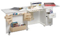 Regal R60 Sewing Cabinet With Drawers In White Only!