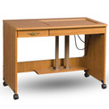 Fashion Sewing Cabinets 387 Mini Quilting/Embroidery Table