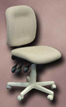 Horn of America Sewing Chair 12090 - Beige Upholstery with Off-White Base