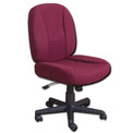 Horn of America Sewing Chair 14090 -Burgandy Upholstery with Black Base