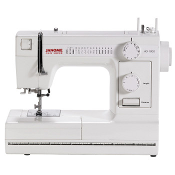 Janome HD1000 Sewing Machine with Exclusive Bonus Bundle