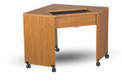 Fashion Sewing Cabinets 15 Modular Sewing Corner Table with Lever Lift
