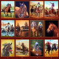 Horseracing Greeting Cards