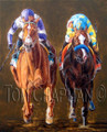 I'll Have Another/Bodemiester Preakness, Giclee Print