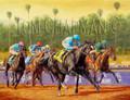 Classic Zenyatta,  Breeders' Cup Classic 2009, giclee canvas print