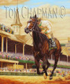 Rachel Alexandra Winning the Kentucky Oaks - horseracing giclee print