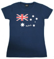 Ladies Australia Flag T-shirt - made in Australia!