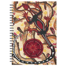 Aboriginal art goanna and the king brown notebook australiana online buy this notebook for yourself and one for a friend solutioingenieria Choice Image