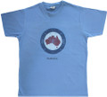Nice blue , great Australia gift t-shirt